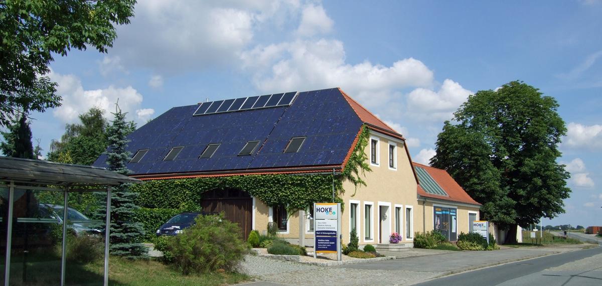 Photovoltaik Firmensitz